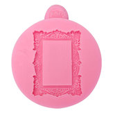 Vierkant Frame Fondant Mold Silicone Mold Cake Decoration Tool multifunctionele Baking Accesseries