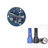 قطع غيار DIY Astrolux FT03 Mini Flashlight Driver Anduril UI Firmware Circuit
