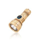 Lumintop GT NANO Cobre / Brass 450LM 300m EDC Linterna con 10180 Batería USB recargable Mini y larga distancia potente LED Linterna