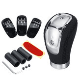 5/6 Velocidade e 3 Caps Adaptador Universal Manual MT Car Gear Varanda Shift Shifter Knob