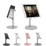 Bakeey Aluminum Alloy Height Adjustable 360 Degree Rotation Phone Holder Tablet Stand For 4-11 Inch Smart Phone Tablet