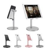 Bakeey Aluminiumlegierung höhenverstellbar 360-Grad-Drehung Telefonhalter Tablet Ständer für 4-11 Zoll Smartphone Tablet