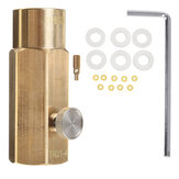 TR21-4 W21.8-14 CO2 to 425g Cylinder Adapter Adaptador de enchimento de CO2 para Sodastream