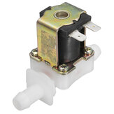 12V DC Electric Solenoid Valve Water Air Inlet Flow Switch Normally Closed 12mm
