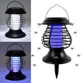 Elektryczna lampa zabójca komarów Home LED Bug Zapper Owad Trap Anti Mosquito Solar Charging