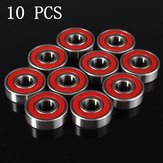 10 pcs Wheel Bearings  Red ABEC 9 High Performance Skate Scooter Skateboard