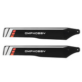 1 Pair OMPHOBBY M2 V2 EXP RC Helicopter Spare Parts Main Blades