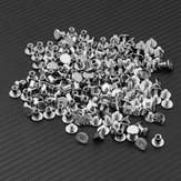 Drillpro 100pcs M5x6 Lash Rivet Lash Nail Desk Calendar Screw With Butt Screw