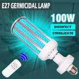 100W Equivalent UV Sterilization Wand Led UVC Light UV E27 Germicidal Lamp Home