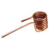 Bobina de aquecimento por indução Tubo de cobre de aquecimento por indução 6mm cabeça de aquecimento sem tampa temperada DIY ZVS