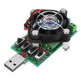 Regolabile 15 Tipo Corrente USB Resistenza di carico Capacità di resistenza a scarica elettronica Tester Voltmetro CC Voltometro amperometro