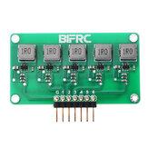 BIFRC 1.5A Hochstrom-Ausgleichsmodul Lipo Batterie Active Equalizer-Platine 2-6S Leiterplatte für die Energieübertragungs-Equalizer-Platine
