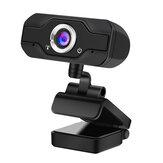 2M Pixels 1920 * 1080P Rotation à 360 ° HD Webcam Mise au point automatique avec microphone en ligne Caméra d'ordinateur Cours en ligne