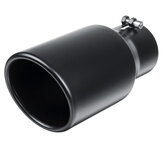 3'' Inlet 4.5'' Outlet Car Exhaust Muffler Pipe Tail Tube Stainless Steel