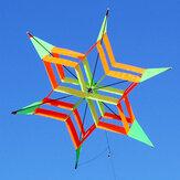 3D Colorful Flower Kite Single Line Sport da esterno Toy Light Wind Flying Kids