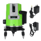 3D 5 Lines Green Laser Level Self-Leveling 360° Rotary Cross Measuring Tool