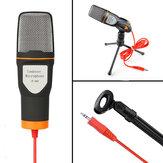SF666 Professional Kondensatormikrofon für Computer Laptop Gesangsrede Meeting Desktop Studio 3.5mm Mikrofon