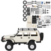 WPL CB05S-1 LC80 1/16 4WD OFF Road RC Car Kit Vehicle Models With Roof Rack