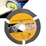 Drillpro 125mm 3T cirkelzaagblad Multitool Grinder Saw Disc Carbide Getipte houtdoorslijpschijf