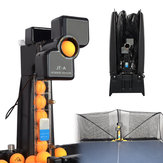 JT-A Robot de Tennis de Table Pratique de Machine de Balle de Ping-Pong Automatique Recycler avec 100 Balles