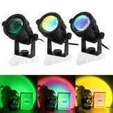 Güneş Projeksiyonu Lamba Parlama Önleyici LED Gece Işığı Romantik Görsel Deneyim Gökkuşağı Projektör Modern Atmosfer Işığı Ev Yatak Odası Kahve dükkanı Arka Plan Duvar Dekorasyonu için