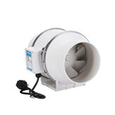6Inch 75W Silent Fan Extractor Duct Hydroponic Inline Exhaust Industrial Vent