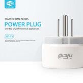 16A Tuya Mini Smart Plug WiFi Smart Socket US Plug Type Power Monitor Wireless Control Compatible Alexa Google Home