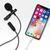 Bakeey E1 ميكروفون سلكي صغير 3.5 مللي متر Type-C ميكروفون Lavalier مكثف تسجيل Vlogging فيديو Live Microphone for iPhone Huawei