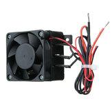 100W 12V 60x60mm DC PTC Fan Heater constante temperatuur Incubator