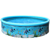 Child Family Inflatable Swimming Pool Garden Outdoor Summer Inflatable Kids Paddling