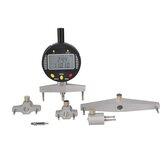 Indicador de radio digital de calibre semidiámetro digital con 5 mordazas de medición intercambiables Medición herramienta