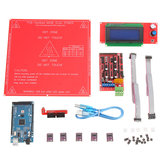 3D Printer Kit RAMPS 1.4+ Mega 2560 +DRV8825 Stepper Motor+2004 LCD+PCB Heat Bed MK2B