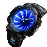 SKEMI 1521 Creative Dial LED Backlight Men Quartz Watch