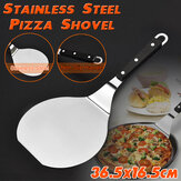 14'' Stainless Steel Pizza Frying Peel Lifter Shovel Spatula Paddle Bake Tray
