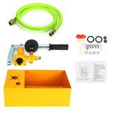 2.5MPa 25KG Water Pressure Tester PumpTank Manual Hydraulic Oil Test Tools Set