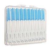 200pcs interdentaires entre les dents brosse fil massage élastique gomme cure-dent