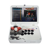 PandoraBox 3D 4018 Games Arcade Game Console 14 polegadas IPS 1080P HD Display Suporte Wifi TV Output Retro Arcade Fight Varanda Rocker Controller