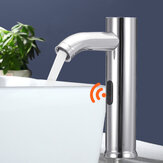 Induction Sensor Stainless Steel Faucet Sensor Faucet Single Cold Basin Sensor Tap Hot And Cold Water Faucet