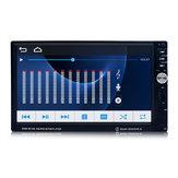 SWM-8010B 7-calowy dotykowy 2 Din MP5 stereofoniczny samochodowy odtwarzacz DVD z radiem bluetooth FM kamera tylna