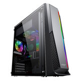 Aigo Rainbow6 Gaming Computer Case Acrylic Side Panel ATX/M-ATX VGA Supported USB 3.0