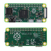 Raspberry Pi Zero 512MB RAM Support de CPU monocommande de 1GHz Micro USB Power et carte MicroSD avec NOOBS