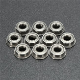 10pcs MF63ZZ 3x6x2.5mm Double Shielded Flange Ball Bearing