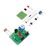 3pcs DIY Photosensitive Induction Electronic Switch Module Optical Control DIY Production Training Kit