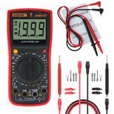 ANENG AN881B + Multímetro Digital AC DC Tensão Atual Resistência À Capacitância Diodo de Temperatura Triodo Tester Teste de Tensão sem contato + 16 em 1 Linha de Teste Multifuncional