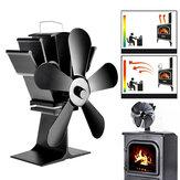 IPRee®8.8inch5-bladenopenhaard ventilator houtkachel Kachel Warmte-krachtventilator