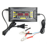 12V 6A Smart Snelle Batterijlader voor Auto Motorcycle LCD Display