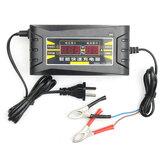 12V 6A Akıllı Hızlı Batarya Şarj Aleti Araba için Motosiklet LCD Ekran