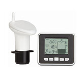 Ultrasonic Water Tank Liquid Level Sensor Meter Monitor Digital LCD Display Clock