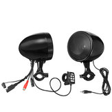 600W IP66 Waterproof bluetooth 4.1 Motorcycle ATV Stereo Speaker Amplifer System