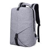 IPRee®20LUSBNylonRugzakTiener Schooltas 15.6 Inch Laptoptas Waterdichte Schoudertas